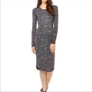 🌸🍂 Aritzia Wilfred Free Gray Midi Dress 🍂🌸